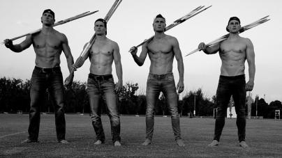El sexy equipo olímpico de lanzamiento de jabalina de Alemania
