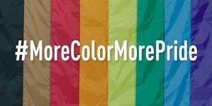 More Color More Pride, la campaña para incluir dos nuevos colores a la bandera gay