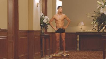 Video de Cristiano Ronaldo en ropa interior es furor