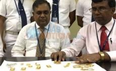Sri Lanka: Se mete un kilo de oro en el recto para no declararlo