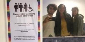 Mexico: Baño sin distinción de género en Tecnológico de Monterrey