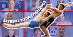 Tom Daley hace yoga extremo con Nile Wilson