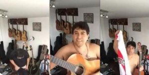 El video del cantante William Luna desnudo