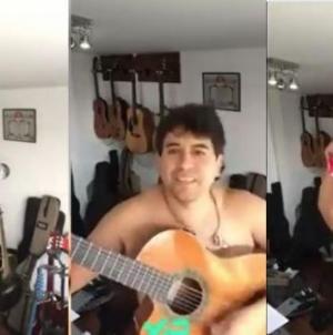 El video del cantante William Luna desnudo