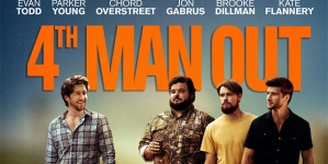 Fourth Man Out, una divertida comedia con tematica gay