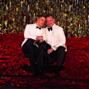 Colton Haynes y Jeff Leatham se casaron