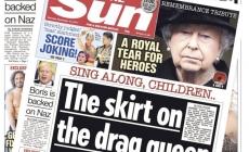 Inglaterra: The Sun saca su portada más transfóbica del año