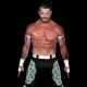 Matt Sydal, luchador de la WWE mostrando sus atributos