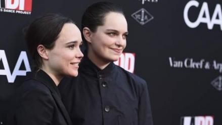 Ellen Page se casó con la bailarina Emma Porter