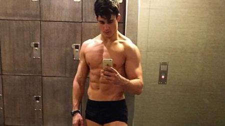 Pietro Boselli y su rutina de gimnasio para piernas