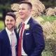 Pareja recibe panfletos homofóbicos en lugar de programa de bodas
