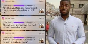 Inglaterra: Reportero gay denuncia ataque homofóbico en sus redes sociales