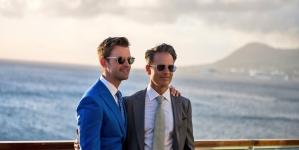 Brad Goreski se casa con el productor Gary Janetti