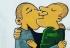 Alemania: Un beso gay lleno de amor como parte de olvidar la herencia del sentimiento Nazi
