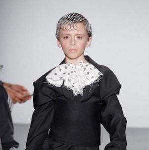 Desmond Napoles, el niño drag  de 10 años que triunfa en las pasarelas