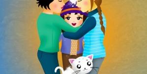 Una familia calientita como el sol, El cuento sobre madres lesbianas