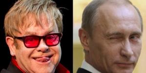Elton John discute derechos LGBT con ministros rusos