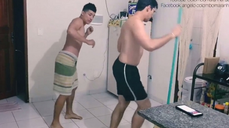 Colombianos con sus bailes calentaron las redes