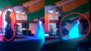 Mexico: Finalista empuja del escenario a ganadora de concurso de belleza gay