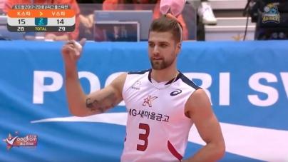 Krisztian Padar, el voleibolista que esta alborotando internet