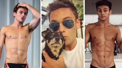 La parte de Tom Daley que nunca viste
