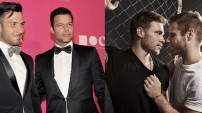 Ricky Martin responde a la propuesta especial de Gus Kenworthy