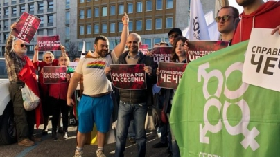 Manifestantes exigen la verdad sobre la purga gay en Chechenia