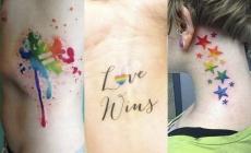 Llevan el Orgullo Lgbt tatuado en la piel