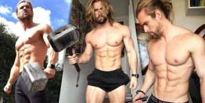 Ben Mudge, el doble de Thor