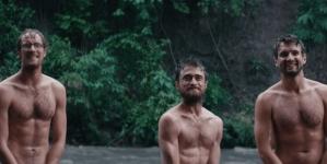 Daniel Radcliffe desnudo en la película Jungle