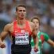 El bulto del atleta alemán Sven Knipphals