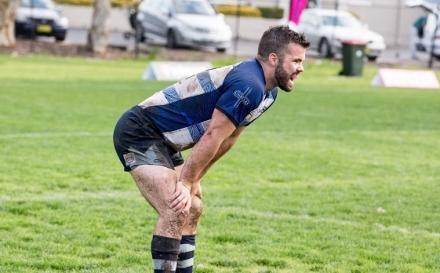 El jugador de rugby Simon Dunn desnudo