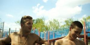 La escena de sexo gay de Harris Dickinson en la pelicula Beach Rats