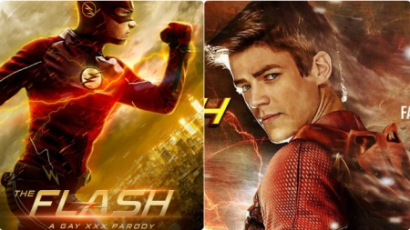La parodia gay de The Flash