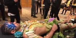 Nantaimori: el arte de comer sushi sobre hombres desnudos