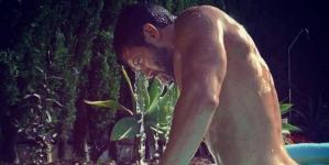 Pablo Alborán calentando un poco instagram