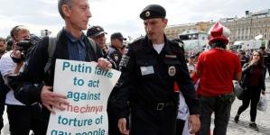 Rusia: Policía detiene a activista gay en el primer día del Mundial