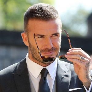 Comparten una provocativa foto de David Beckham en la piscina