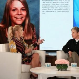 Ellen confiesa que sufrió abuso sexual a los 15 años