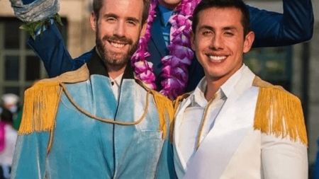 Jason Bitner y Garrett Smith en una boda mágica con sello Disney