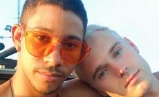Keiynan Lonsdale tiene un romance con el modelo Zak Frio