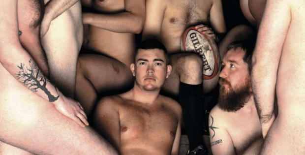 Naked Rugby Players desnudos contra el cancer masculino