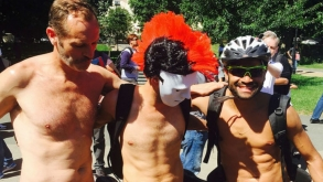 Las fotos del World Naked Bike Ride