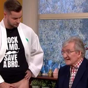 Muestran examen testicular en vivo en la televisión británica