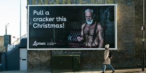 Paul Orchard  encarna a un sexy Santa Claus en nuevo anuncio de app de citas