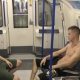 Multados por grabar un trio gay en el metro de londres