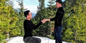 Matthew Olshefski le pide matrimonio a su novio